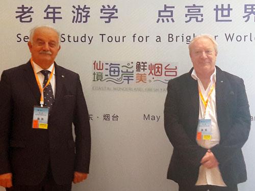 Giampaolo Palazzi e Fabio Menicacci