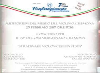 Concerto per il 70mo di Confartigianato Cremona