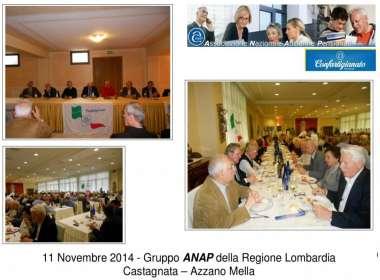 11 Novembre 2014 - Gruppo ANAP della Regione Lombardia Castagnata - Azzano Mella