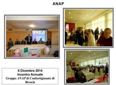 Incontro annuale dei soci ANAP della Provincia di Brescia - Natale 2014