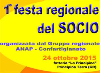Prima Festa Regionale del Socio