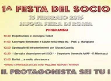 Prima Festa del Socio Anap Roma