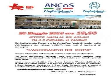 Anap ed ANCoS di Palermo insieme ad Amplifon per combattere la sordità