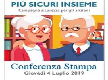 """Conferenza stampa """"Più Sicuri Insieme"""""""