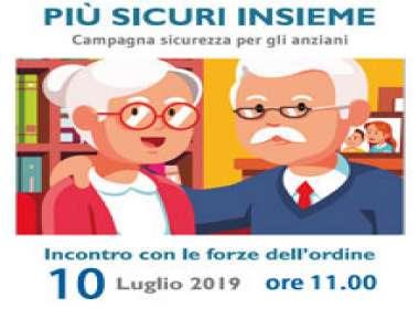 Più Sicuri Insieme contro le truffe agli anziani