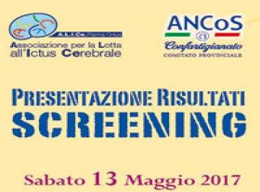 Presentazione risultati screening