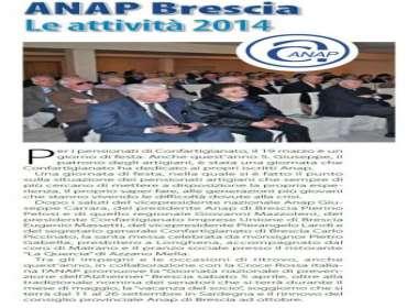 Festa di San Giuseppe  Gruppo ANAP Brescia - 19 marzo 2014