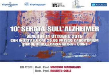 X Serata sull'Alzheimer