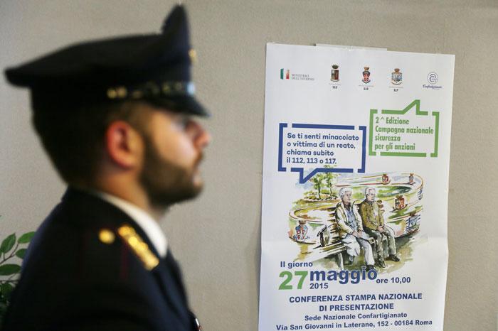 2015 - Conferenza stampa Più Sicuri Insieme
