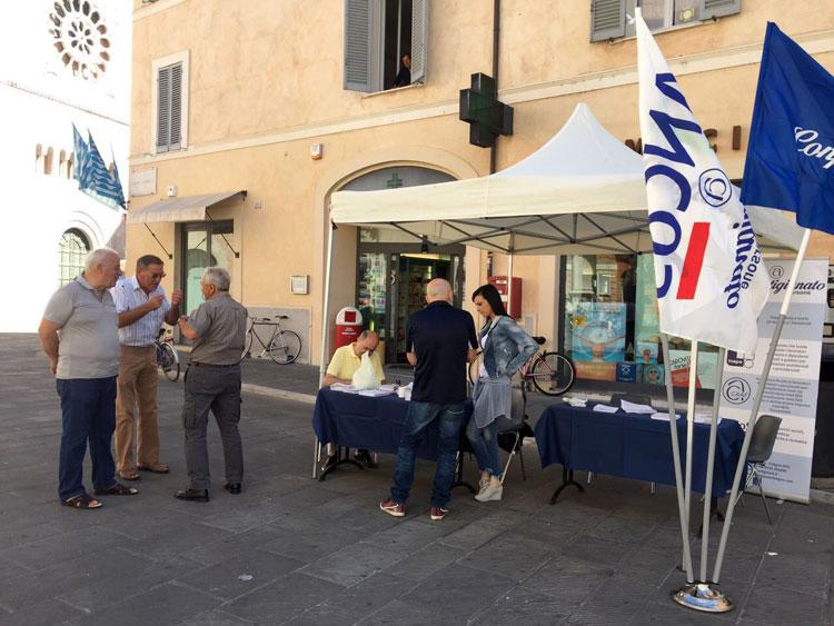 Largo Carducci a Foligno 2017
