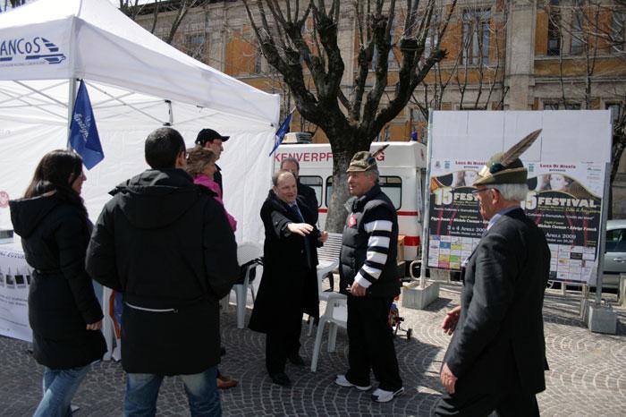 2005 - Giornata Alzheimer in piazza