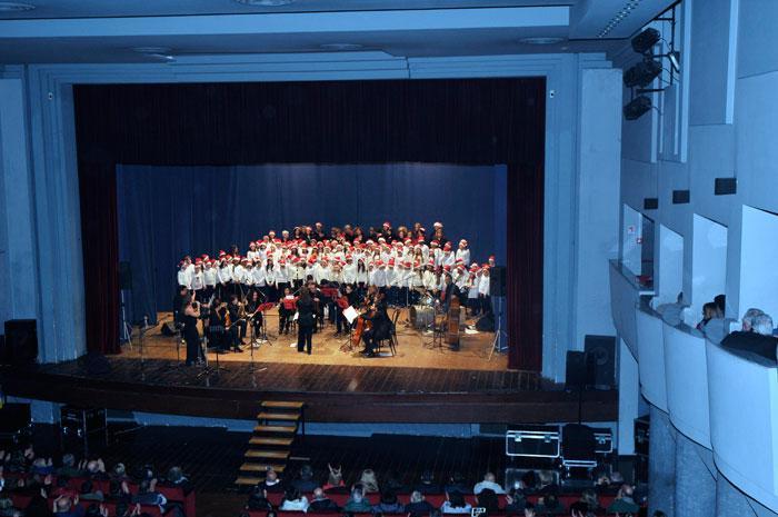 Grande successo al concerto di Natale