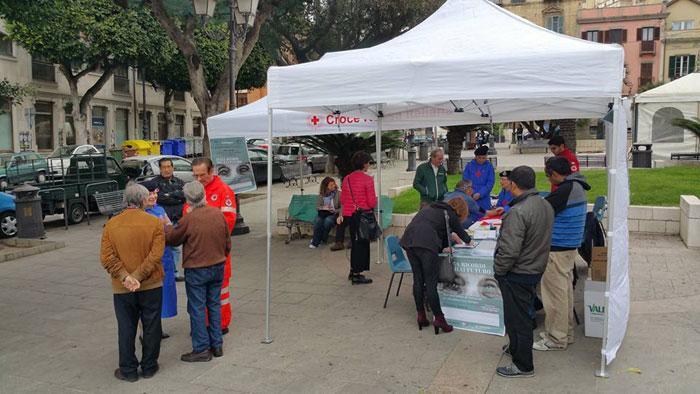 2 aprile a Cagliari - Piazza Yenne Giornata Alzheimer