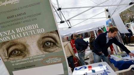 Giornata Alzheimer in Piazza Giotto
