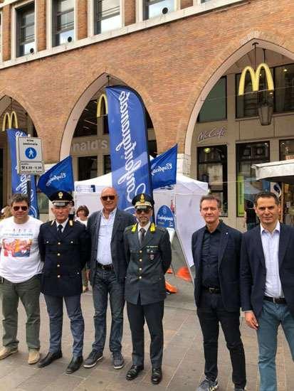 """Svolta in Piazza Trento Trieste a Ferrara la campagna """"Più Sicuri Insieme"""""""
