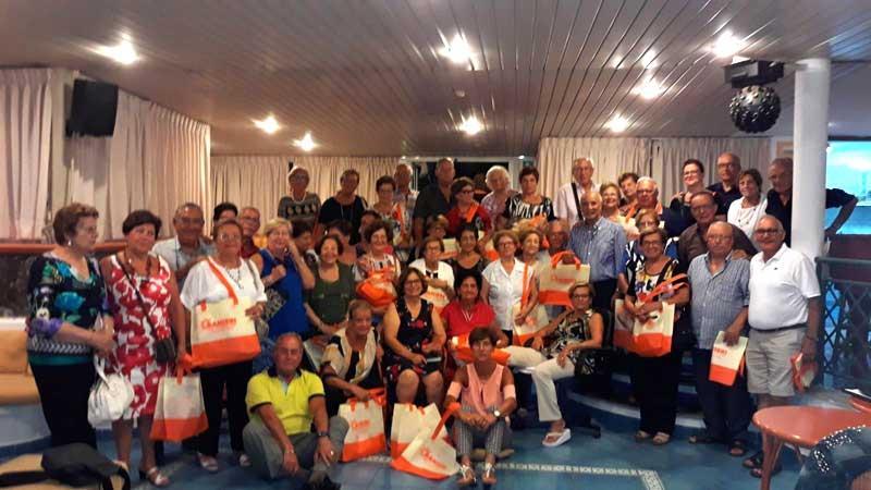 Il gruppo Anap Lecce a Ischia