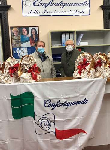 Presidente Fontana Giovanni e il Vice Presidente Vignati Francesco