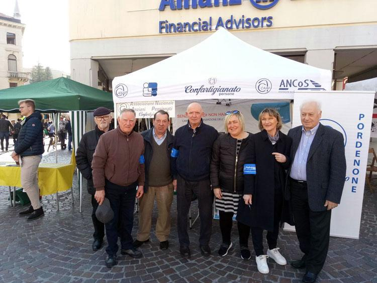 Anap Pordenone presente per la Giornata dell'Alzheimer