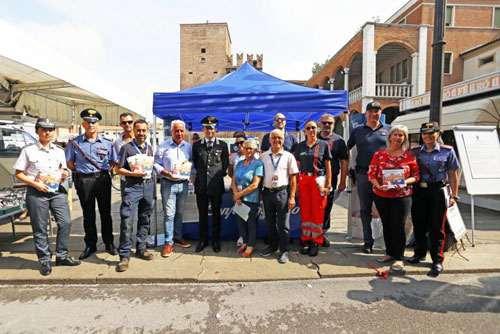 Anap Confartigianato in piazza per la Campagna contro le truffe agli anziani