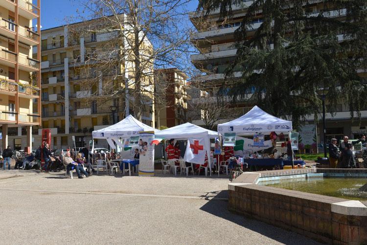 Piazza Giotto - Arezzo, la Giornata dell'Alzheimer