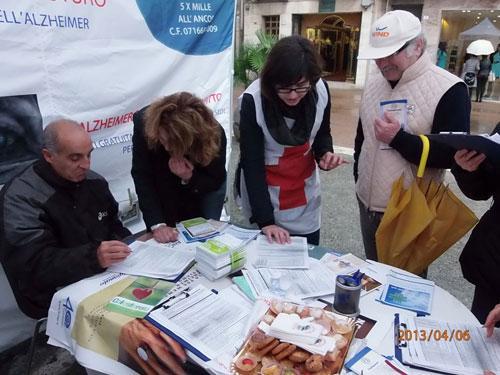 Giornata Alzheimer 2013 Via Garibaldi