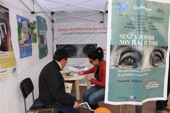 Caltanissetta - Sesta giornata nazionale Alzheimer 2013
