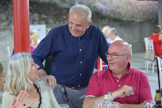 La tradizionale cena estiva per i soci Anap Lecco