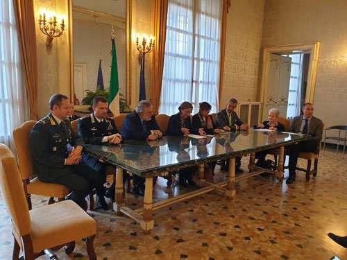 Conferenza stampa Prefettura e Anap Liguria