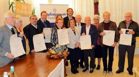 Nominati dieci soci Anap nominati Maestri d'Opera ed Esperienza
