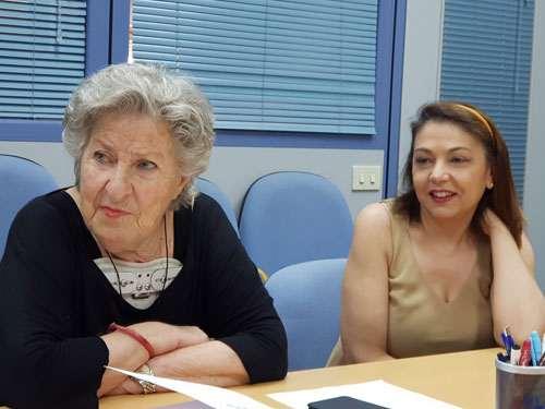 Annamaria Pesce e Paola Montis