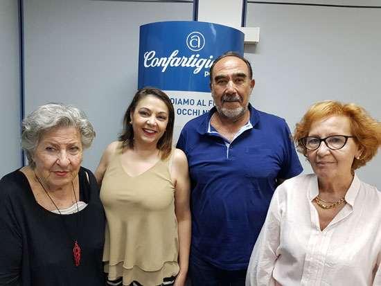 Annamaria Pesce, Paola Montis, Cabras Carlo e Loni Giulia