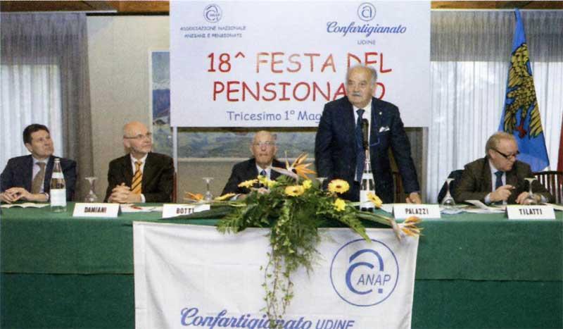 Festa annuale pensionati Anap e nomina Maestri d'Opera ed Esperienza