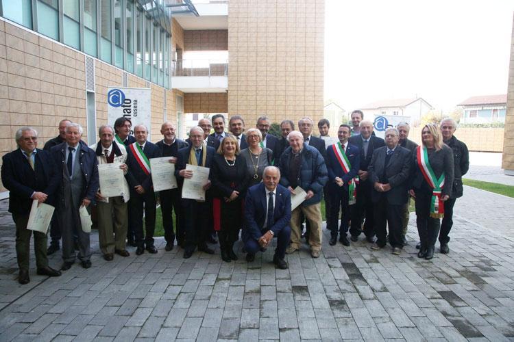 Diciassette maestri artigiani cesenati premiati dai sindaci