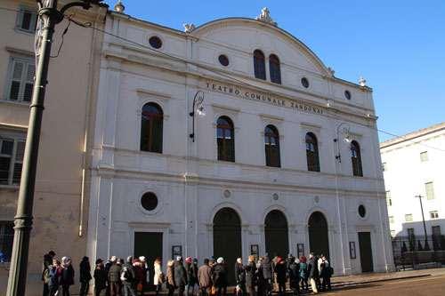 Gruppo Anap Pordenone in gita al centro di Rovereto