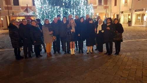 Gruppo soci Anap Cesena scambio di auguri di Natale
