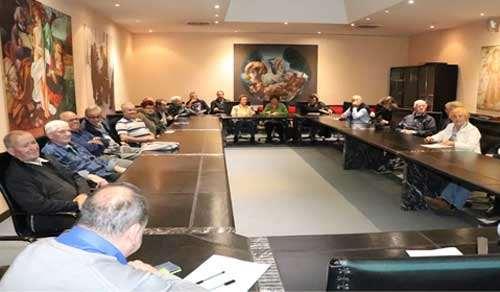 la sala convegni piena di associati anap