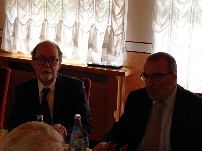 Presidente Anap Claudio Cocco e Presidente Associazione Artigiani Roberto De Laurentis