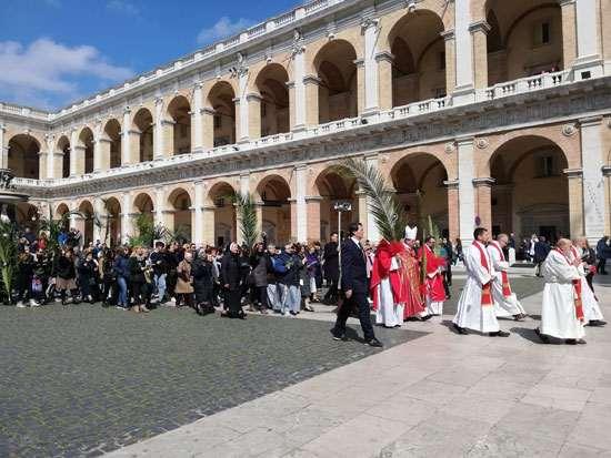 Pellegrinaggio Anap per la Domenica delle Palme a Loreto