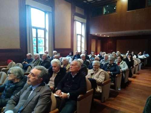 Il pubblico attento durante il convegno Più Sicuri Insieme Anap