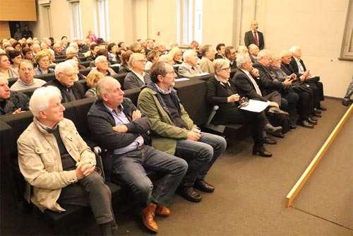 Il pubblico numeroso al convegno