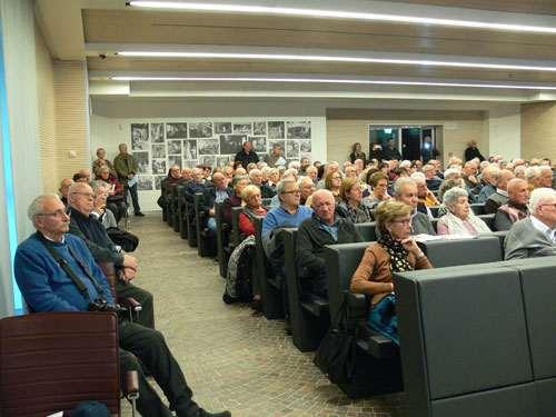 Il pubblico dei pensionati durante la giornata