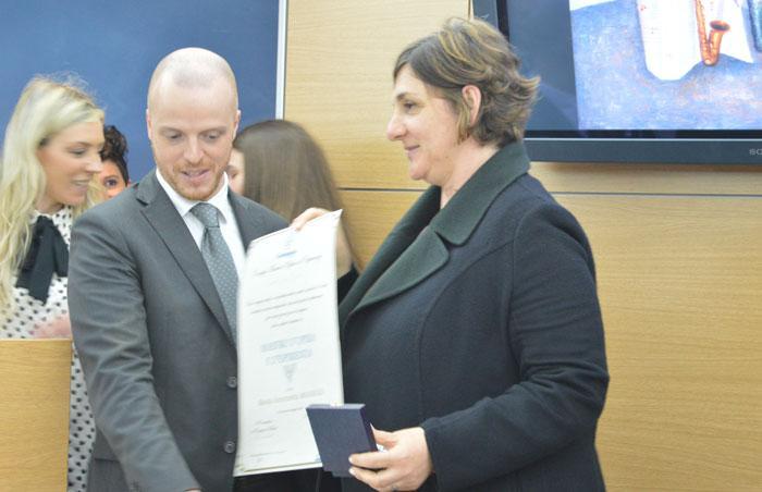 Premiazione Maestri d'Opera e di Esperienza