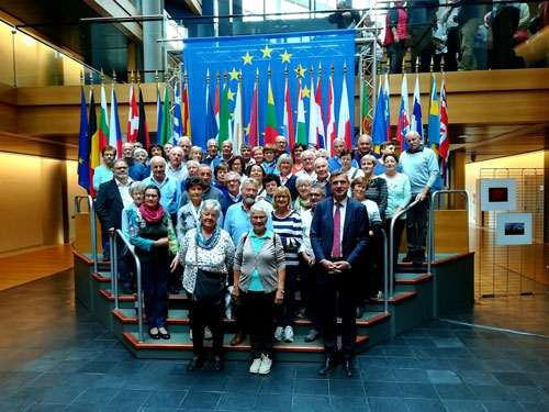 visita gruppo anap bolzano a strasburgo