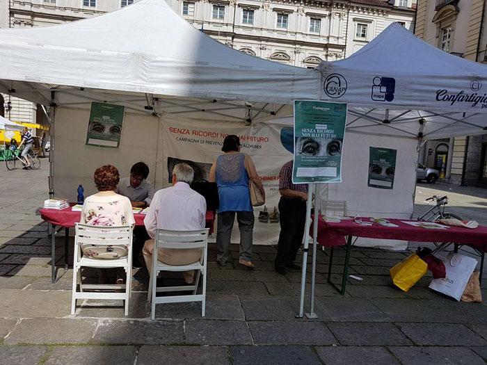 Piazza Palazzo a Torino 2017