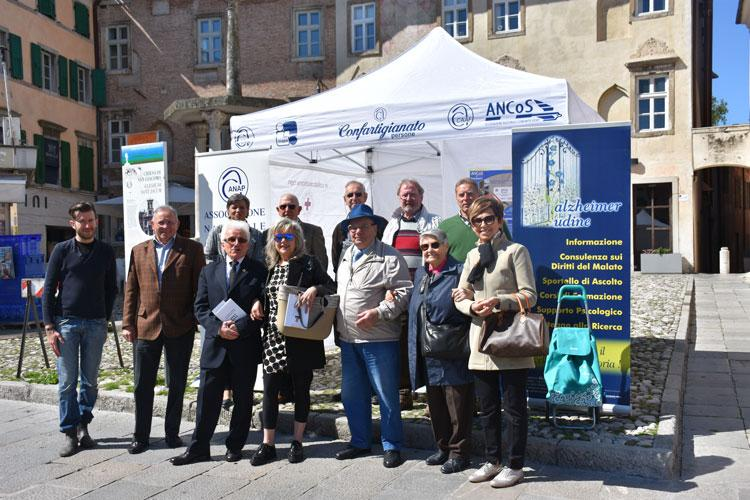 Piazza San Giacomo a Udine 2017